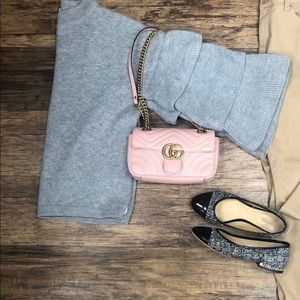 Gucci Marmont Mini bag in dusty pink